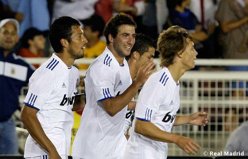 L.A.Galaxy 2-3 Real Madrid