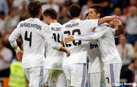 3-0: Los goles de Cristiano Ronaldo, Higuaín y Benzema sentencian al Espanyol