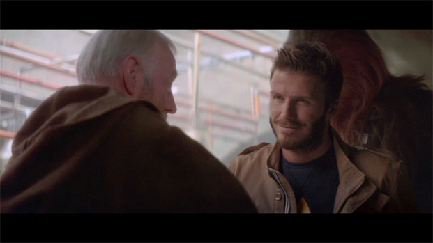 Adidas Originals presenta David Beckham en Star Wars Cantina 2010