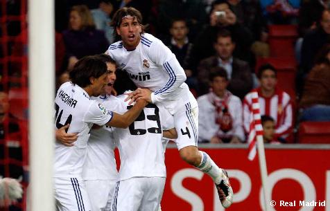 Real Madrid 1-0 Sporting