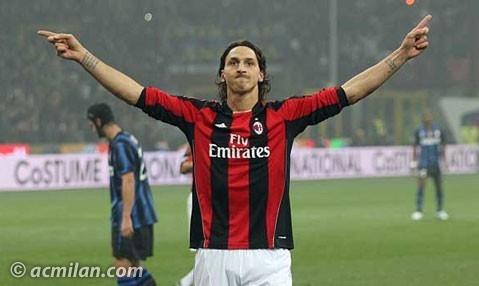 El clasico de Italia AC Milan 1- 0 Inter de Milan