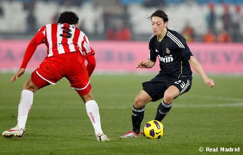 REAL MADRID 1-1 ALMERIA