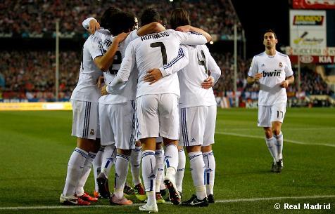 REAL MADRID 1-0 ATLETICO DE MADRID