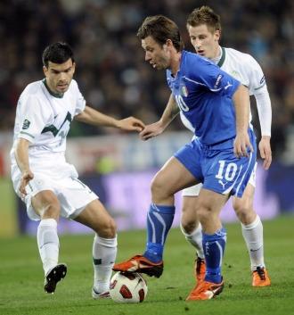 Eslovenia 0-1 Italia