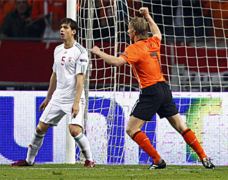 Holanda 5 – 3 Hungría