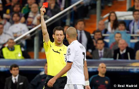El Madrid perdio el juego de ida de la champions