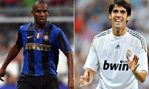 Mourinho quiere hacer el cambio Maicon por Kaká