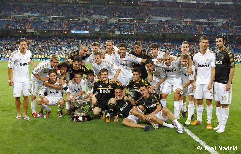El Real Madrid gano la copa santiago bernabeu