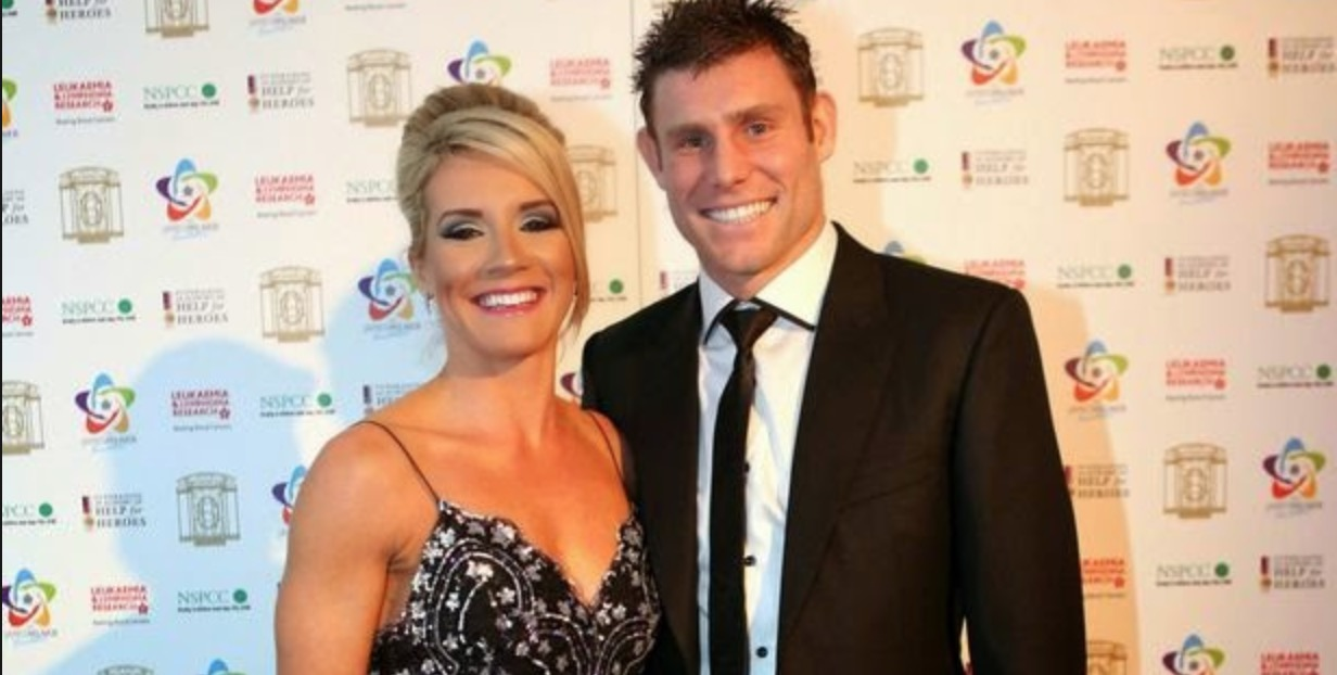 James Milner's Wife Amy Fletcher