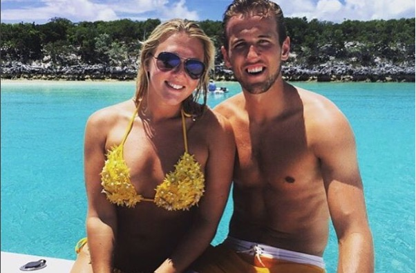 Harry Kane's girlfriend Kate Goodland