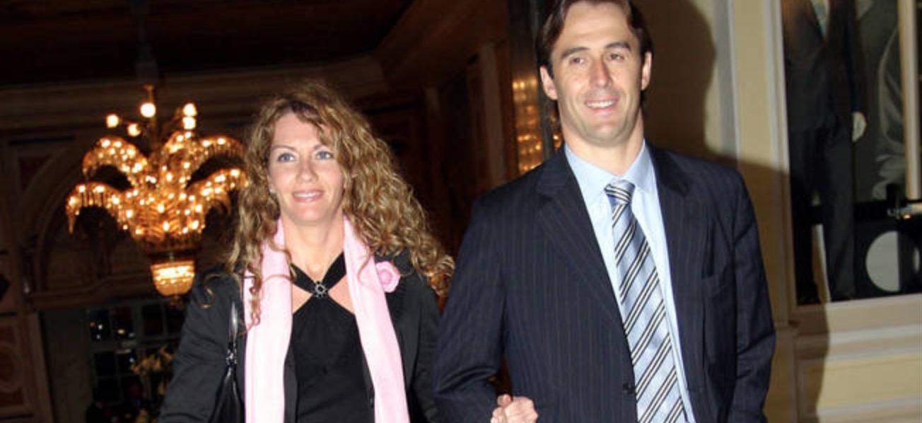Julen Lopetegui's Wife Rosa Maqueda