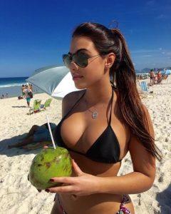 Luisa Ramos, Douglas Costa's Wife