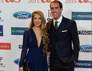 Sofia Herrera, Diego Godin's Girlfriend