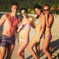 Olivier Giroud's Wife Jennifer Giroud And Former Mistress Celia Kay