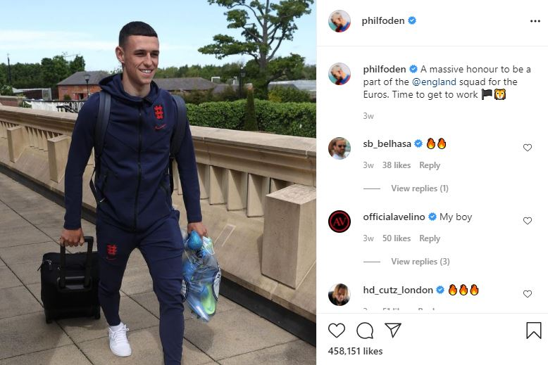 most expensive soccer player: Phil Foden